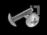 H型十字槽大球面头自攻螺钉F型