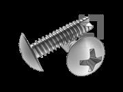 H型十字槽大球面头割尾自攻螺钉FT型