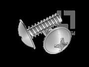 H型十字大球面凸缘自攻锁紧螺钉