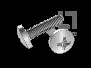 UNI 8112 十字槽圆头三角锁紧螺钉(H型)