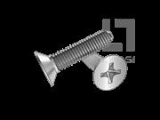 UNI 8113 十字槽沉头三角锁紧螺钉(H型)