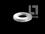 DIN 125-1B-1990 平垫圈—硬度250HV以下,六角螺栓与螺母组合用(B型)