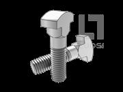 JB/T 1709-1991 球拍T形头方颈螺栓