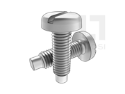 GB/T 828-1988 开槽圆头定位螺钉
