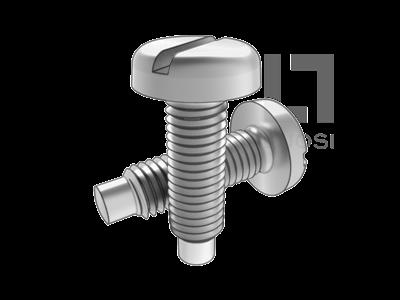 GB 828 開槽圓頭定位螺釘