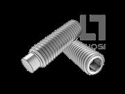 GB/T 79-2007 内六角圆柱端紧定螺钉