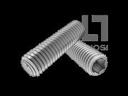GB/T 80-2007 内六角凹端紧定螺钉