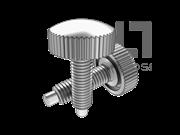 GB/T 840-1988 塑料滚花头螺钉(B型)