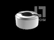 QJ 2392-1992 带槽圆螺母