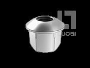 JB/T 8004.2-1999 B型球面带肩螺母