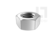 GB/T 9125-2010 管法兰连接用紧固件—1型六角螺母