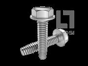 ASME/ANSI B18.6.4-40-1998 C牙六角头带介自攻螺钉 表40