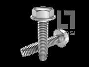 ASME/ANSI B18.6.4-40-1998 C牙细牙六角头带介自攻螺钉 表40