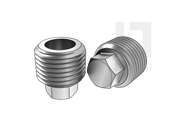 DIN 909-1992 统一螺纹六角头螺塞(d≥20mm)