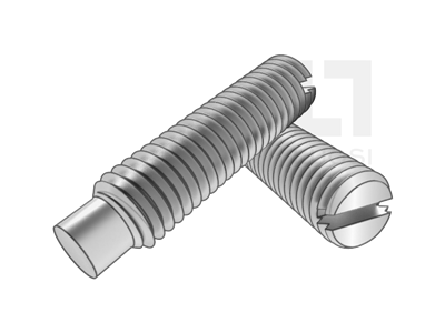GB 75 開槽長圓柱端緊定螺釘