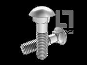 GB/T 12-1988 半圆头方颈螺栓