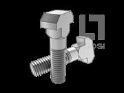 DIN 7992-2007 大头T形头螺栓
