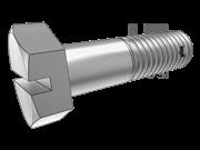 QJ 8035-2002 一字槽六角头螺杆带孔螺栓