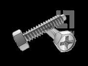 Q 275-1999 十字槽凹穴六角自攻螺钉F型