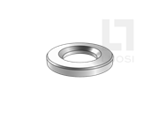 GB/T 32076.7-2015 预载荷高强度螺栓结构连接副 第7部分 HV型 倒角垫圈