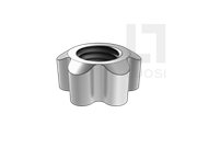 JIS B1119-3-1986 梅花形螺母表3