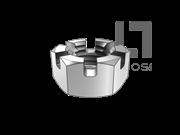 GB/T 6181-1988 六角开槽薄螺母
