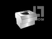 JIS B1167-2001 T形槽用螺母
