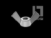 GB/T 62.2-2004 蝶形螺母 方翼