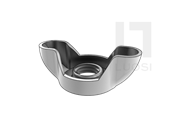 GB/T 62.3-2004 蝶形螺母 冲压 B型(矮型)