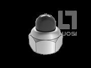 GB/T 802.5-2009 非金属嵌件六角锁紧盖形螺母 焊接型