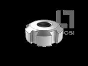 GB/T 812-1988 圆螺母(d≥M105)