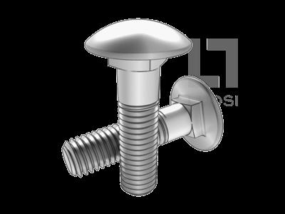 GB 801 小半圓頭低方頸螺栓
