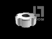 GB/T 810-1988 小圆螺母(d≥M105)