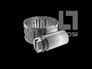 QC/T 619-1999 B型蜗杆传动式软管环箍
