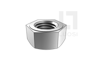 GOST R52645-2006 高强度钢结构栓接用单倒角六角螺母(大对边) 8、10级