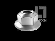 GB/T 6187.2-2016 2型全金属六角法兰面锁紧螺母 细牙