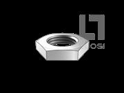 Q 802-1999 卡套式管接头用六角薄螺母