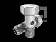 Q 818-1999 卡套式铰接六角螺栓(两孔)
