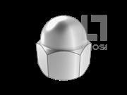 GB/T 802-1988 组合式盖形螺母