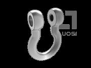 JIS B2801-1-1977 BC型卸扣 表1
