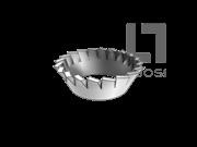 GB/T 956.2-1987 锥形锯齿锁紧垫圈