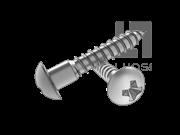 GB/T 950-1986 十字槽圆头木螺钉