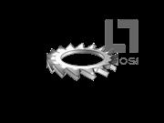 GB/T 9074.27-1988 组合件用外锯齿锁紧垫圈