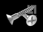 GB/T 951-1986 十字槽沉头木螺钉