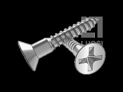 GB 951 十字槽沉頭木螺釘