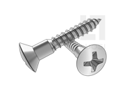 GB/T 952-1986 十字槽半沉头木螺钉