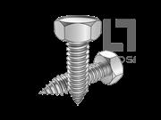 GB/T 5285-1985 六角头自攻螺钉C型