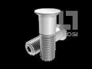 GJB 134.2-1986 光杆公差带r6抗剪型100°沉头高锁螺栓