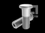GJB 134.4-1986 光杆公差带r6抗剪型平头高锁螺栓