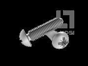 GB/T 6560-2014 米字槽盘头自挤螺钉(Z型)